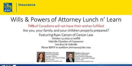Wills & Powers of Attorney tickets