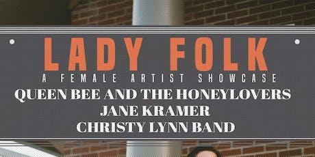Lady Folk- A Female Artist Showcase tickets