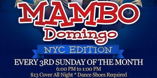 MAMBO Domingo at The New Dancesport