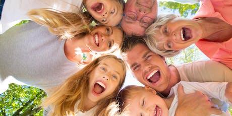 """Laboratorio gratuito genitori/figli: """"PARLIAMONE!""""- Inaugurazione Joy Abano biglietti"""
