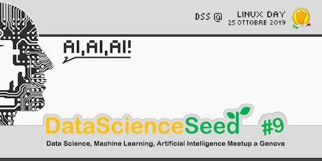 DataScienceSeed #9 @ Linux Day Genova biglietti
