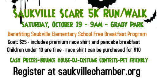 2019 Saukville Scare 5K Run/Walk
