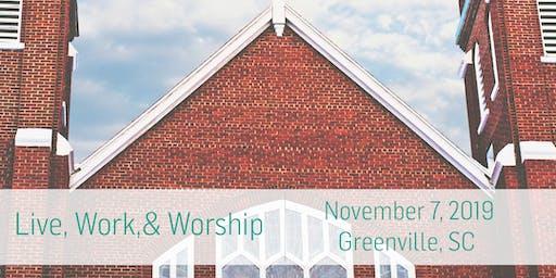 Live, Work, & Worship: Greenville