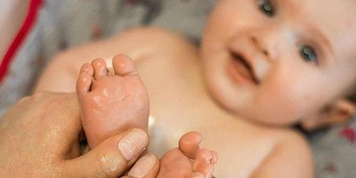 Cours de massage parent(s)-bébé en groupe