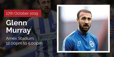 Meet Premier league Football Player Glenn Murray with Two-Course Lunch.