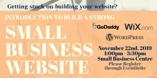 Introduction to build a strong Small Business Website