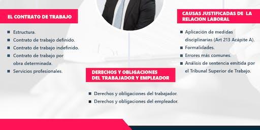 """Seminario """" Aspectos Legales sobre la Relación Laboral"""""""