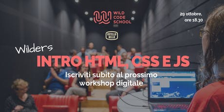 Introduzione a HTML, CSS & JS: let's make pixel art! biglietti