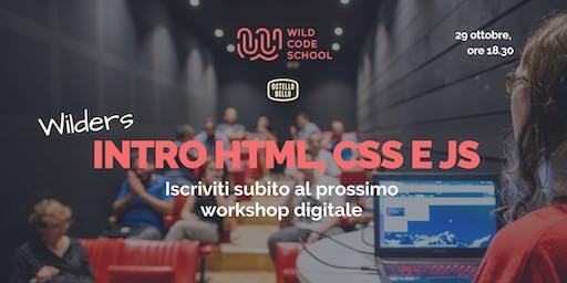 Introduzione a HTML, CSS & JS: let's make pixel art!