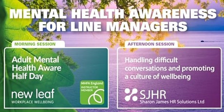 Mental Health Awareness for Line Managers tickets