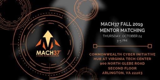 MACH37 Fall 2019 Mentor Matching