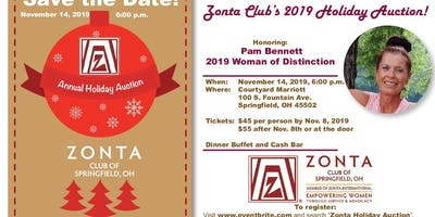 2019 Zonta Holiday Auction