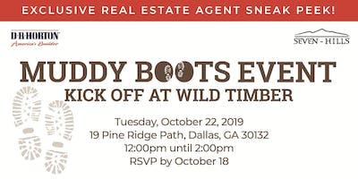 Real Estate Agent Sneak Peek: Wild Timber Muddy Boots Kick Off