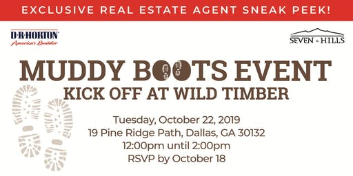 Real Estate Agent Sneak Peek: Wild Timber Muddy Boots Kick Off