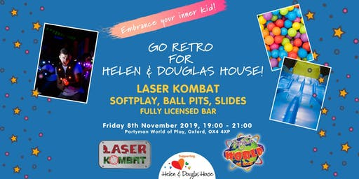 Go Retro for Helen & Douglas House - Adult Softplay Night