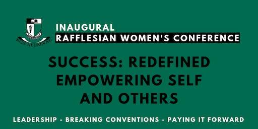 Inaugural Rafflesian Women's Conference 2019
