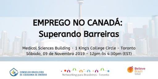 Emprego no Canadá: Superando Barreiras
