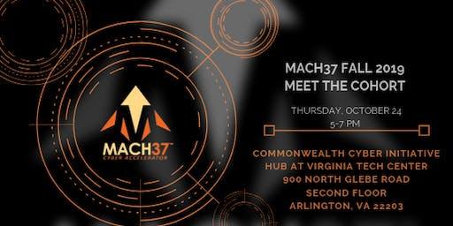 MACH37 Fall 2019 Meet the Cohort