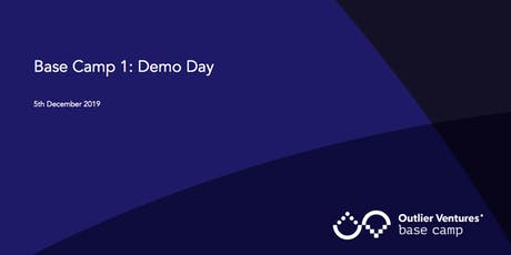 Outlier Ventures Base Camp 1 Demo Day tickets