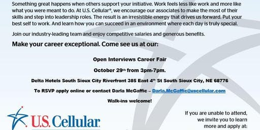 US Cellular Retail Hiring Event - Sioux City
