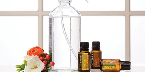 Healthy Living - Cleaning using Essential Oils