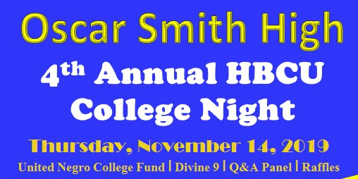 4th  Annual HBCU College Night