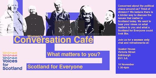 Voices for Scotland: Conversation Café