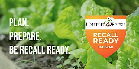 DELAWARE: United Fresh Recall Ready Workshop tickets