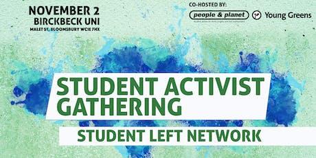 Student Activist Gathering tickets