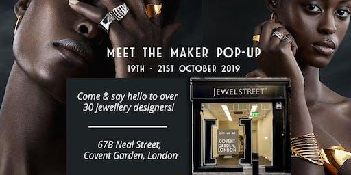 JewelStreet SIP & SHOP Pop-up at Covent Garden