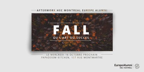 ✭ FALL AFTERWORK HEC Montréal Europe Alumni ✭ 16 OCTOBRE 2019 billets