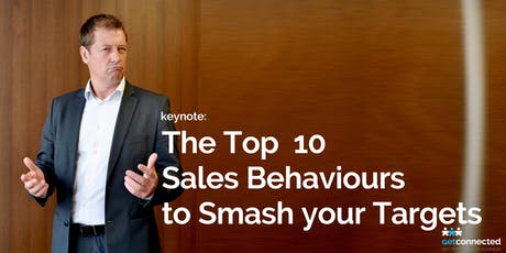 The Top 10 Sales Behaviours to Smash your Targets tickets