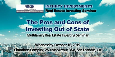 The Pros and Cons of Investing Out of State | Real Estate Investing Seminar tickets