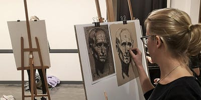 The Portrait in Graphite & Charcoal: Six-Week Course