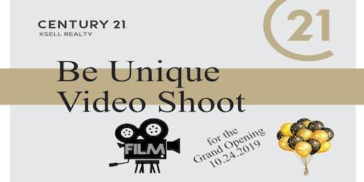 Be Unique Video Shoot