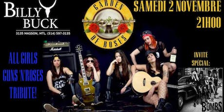 Guns n' roses All female tribute band  and the bombs tickets