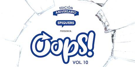 OOPS! Vol. 10 - Edición 2º Aniversario entradas