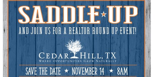 Saddle Up & Join Us for a Realtor Round Up Event!