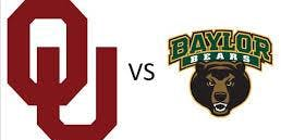 OU Sooners vs Baylor