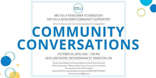 Better Together Kingston - Community Conversation