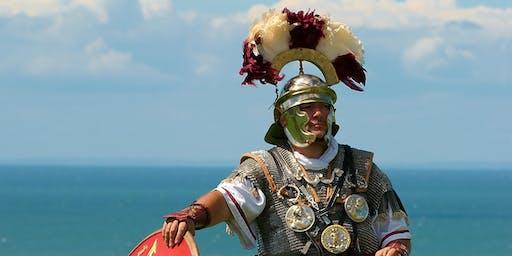 Meet the Romans: Centurion Marching Drill