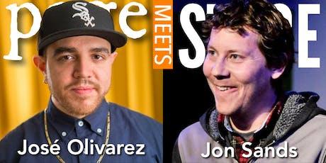 PAGE MEETS STAGE with José Olivarez & Jon Sands tickets