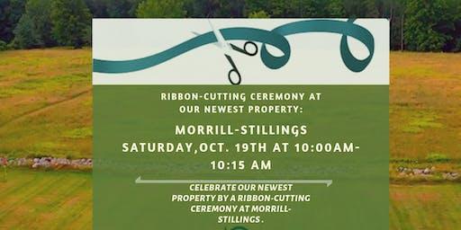 Ribbon- Cutting Ceremony at Morrill -Stillings Farm Property