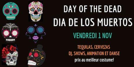 Soirée Dia de Muertos tickets