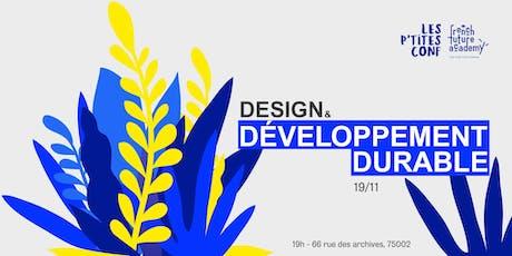 Design & Développement durable tickets