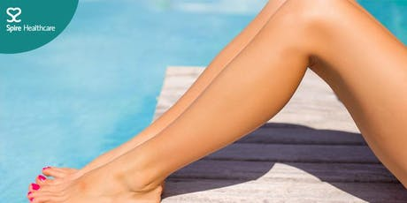 Varicose veins & thread veins  free consultations with Mr Akin Oluwole tickets