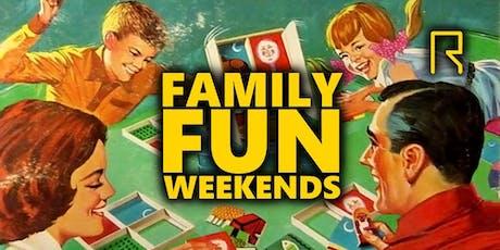R-CADE Family Fun Weekends tickets
