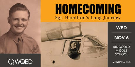 WQED Premiere:  HOMECOMING - Sgt. Hamilton's Long Journey tickets