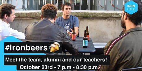 #IRONBEERS | MEET THE STUDENTS, TEACHERS AND THE TEAM! billets
