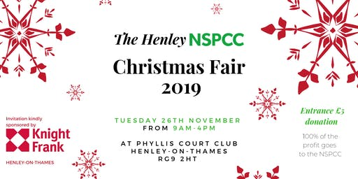 The Henley NSPCC CHRISTMAS FAIR 2019
